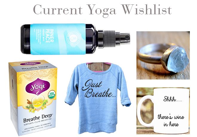 Yoga Wishlist | Organic Beauty Blogger