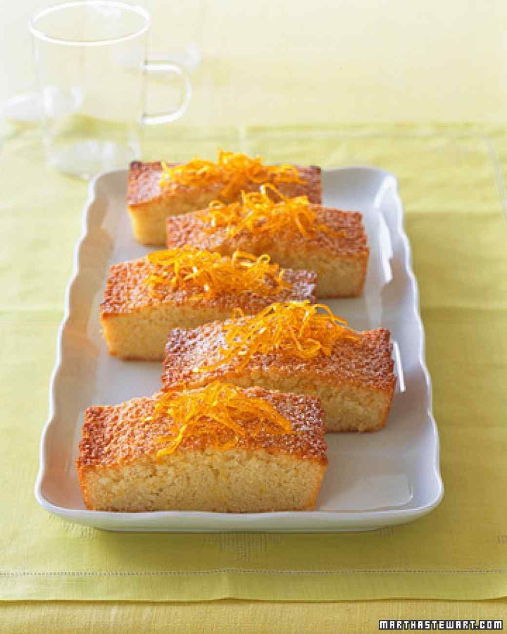 Rich and buttery, this French cake is named for its resemblance to a banker's bar of gold. We've added flecks of orange zest to punctuate the classic almond-flavored batter and baked it in a tart pan, rather than in the traditional individual molds.