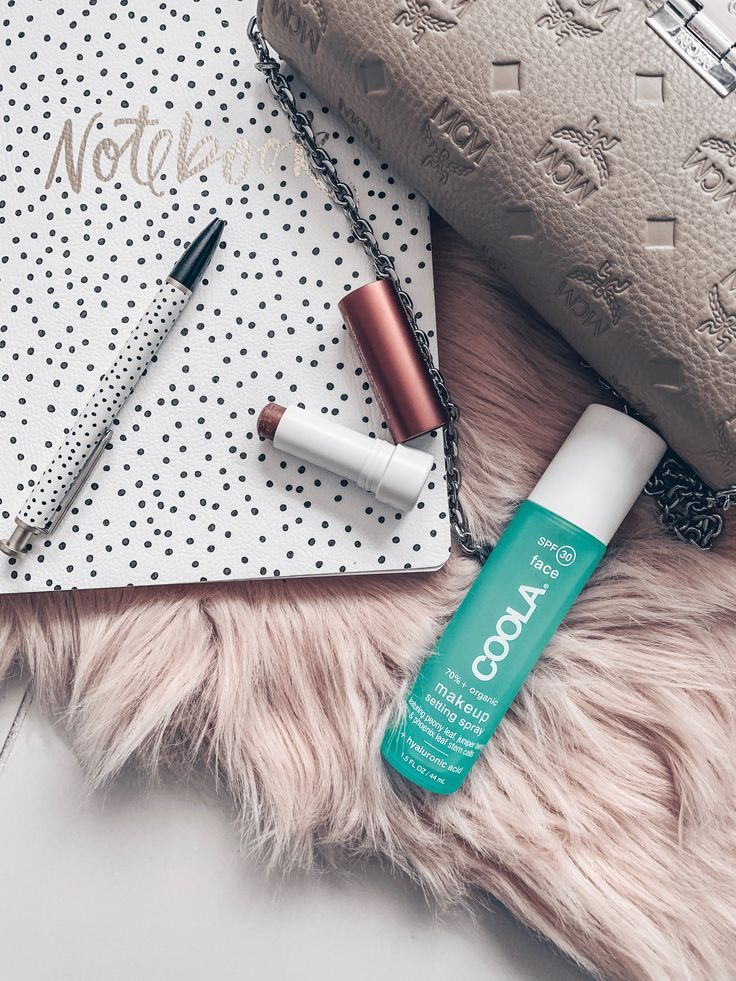 Loving the Coola Makeup Setting Spray and the Tinted Lip