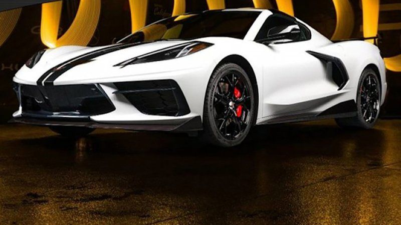 Somebody is selling a 2020 Chevrolet Corvette C8 for