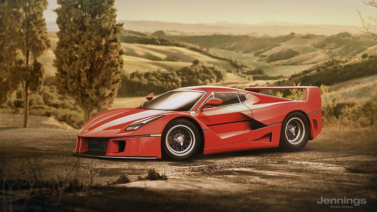 Retro Versions Of Modern Cars Are A Must See In 2020 Ferrari Laferrari Car Ferrari