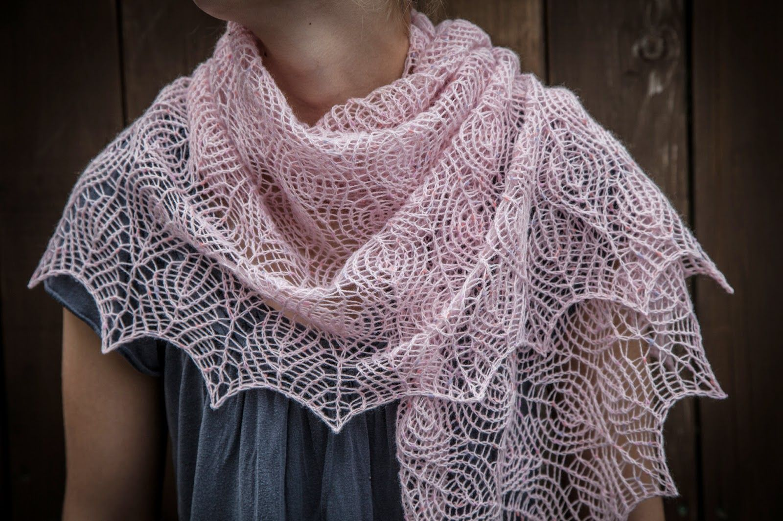 Knitting Patterns For Triangle Scarves : Shetland Knitting Patterns Shetland Lace Triangle Shawl Shetland lace P...