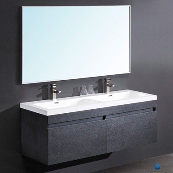 Fresca Largo Black Modern Bathroom Vanity two finishes, Gray Oak and on gray front stoop designs, gray wall designs, gray colored bathrooms, gray living room interior, gray tables, updated bathrooms designs, master bedroom designs, gray color designs, gray painted bathrooms, gray office design, gray bedroom, gray painting, gray marble bathrooms, gray closets, gray room designs, gray interior designs, gray foyer designs, gray photography, gray bath, gray living room decorating,