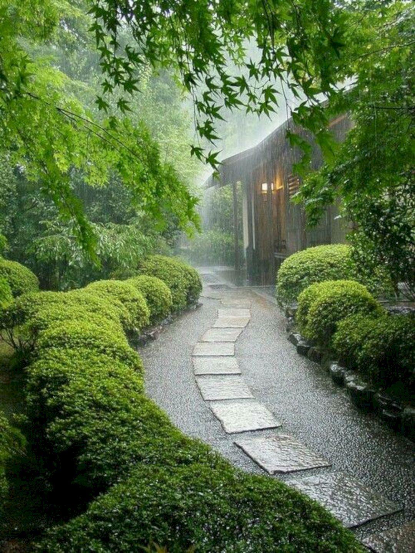 Marvelous Best Way To Enhance Your Beautiful Landscape With Walkway Ideas 100 Pictures Https Freshoom Com 16000 Jardines Senderos De Jardín Jardin Japones