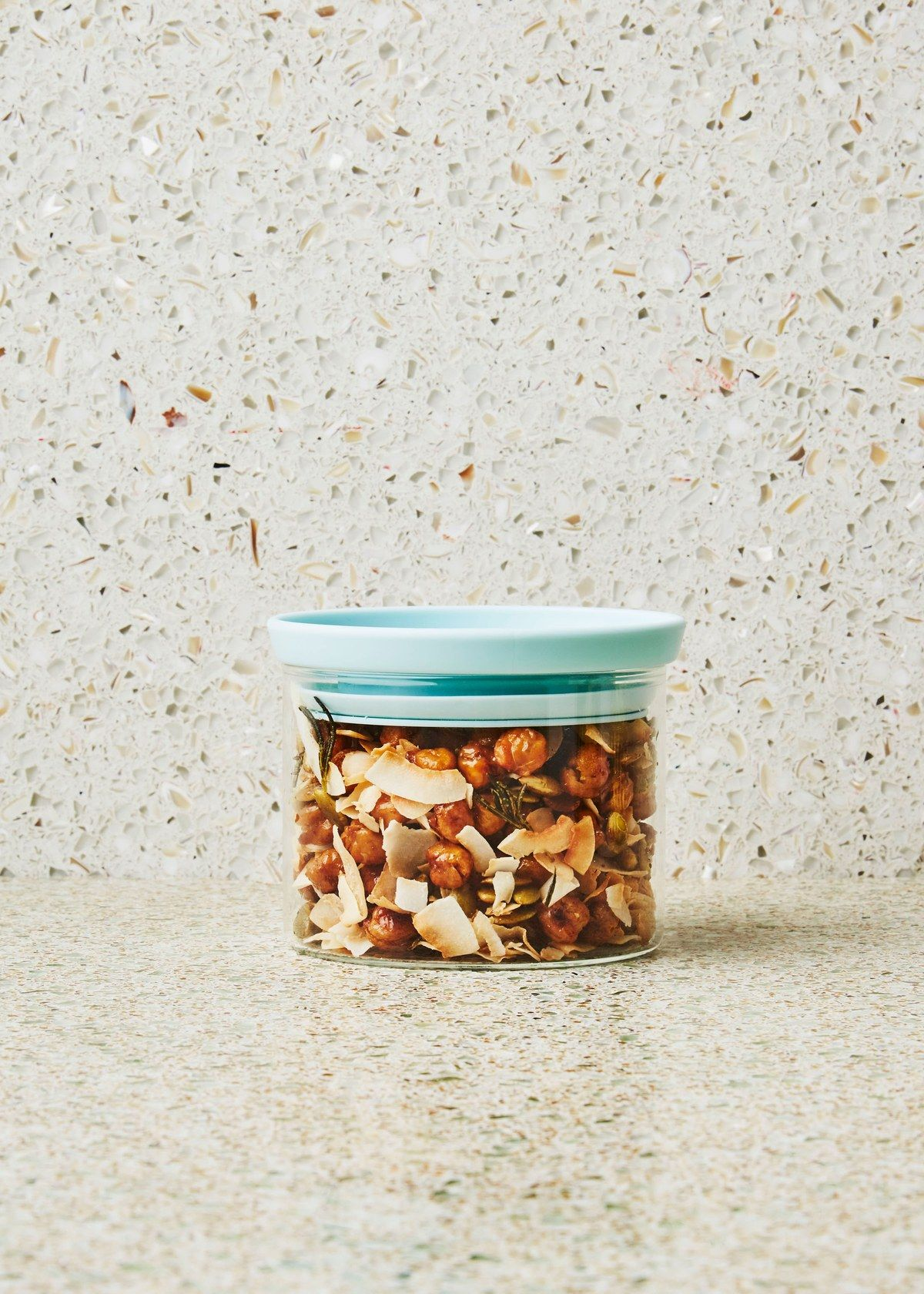 Coconut and Crispy Chickpea Trail Mix