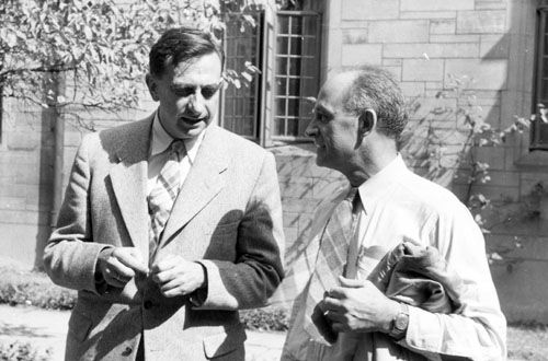 Edward Teller and Enrico Fermi 1951 Arsenals of folly