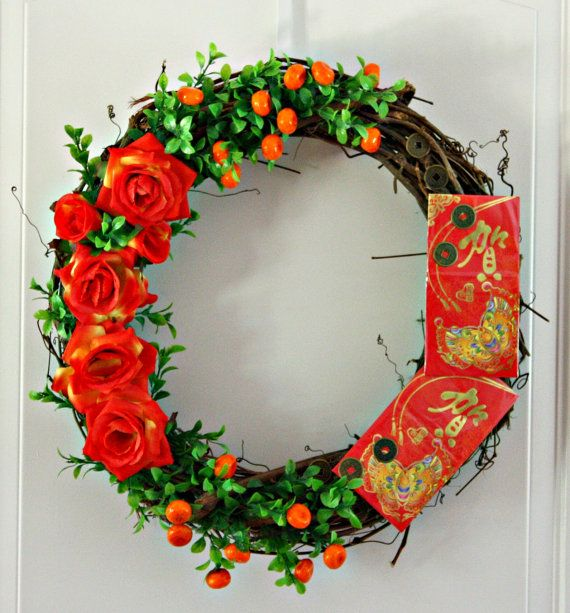 Chinese New Year Wreath - Celebrate China Lunar Year ...