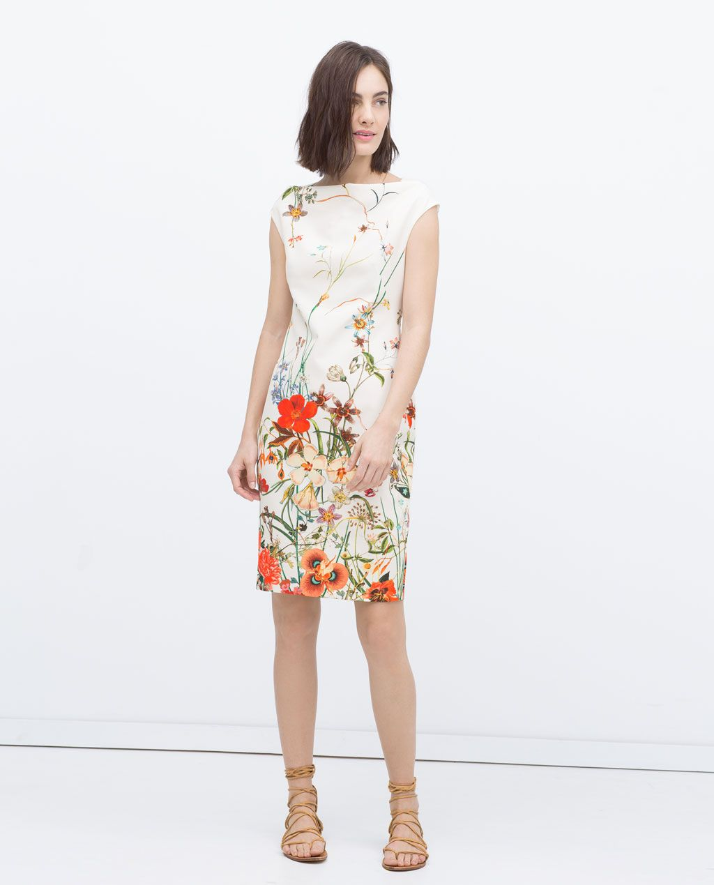 Floral printed tube dress view all dresses woman zara united floral printed tube dress view all dresses woman zara united states ombrellifo Choice Image