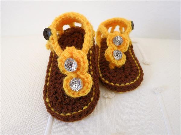 Crochet Baby Gladiator Sandals Pattern Kids Crochet Crochet And