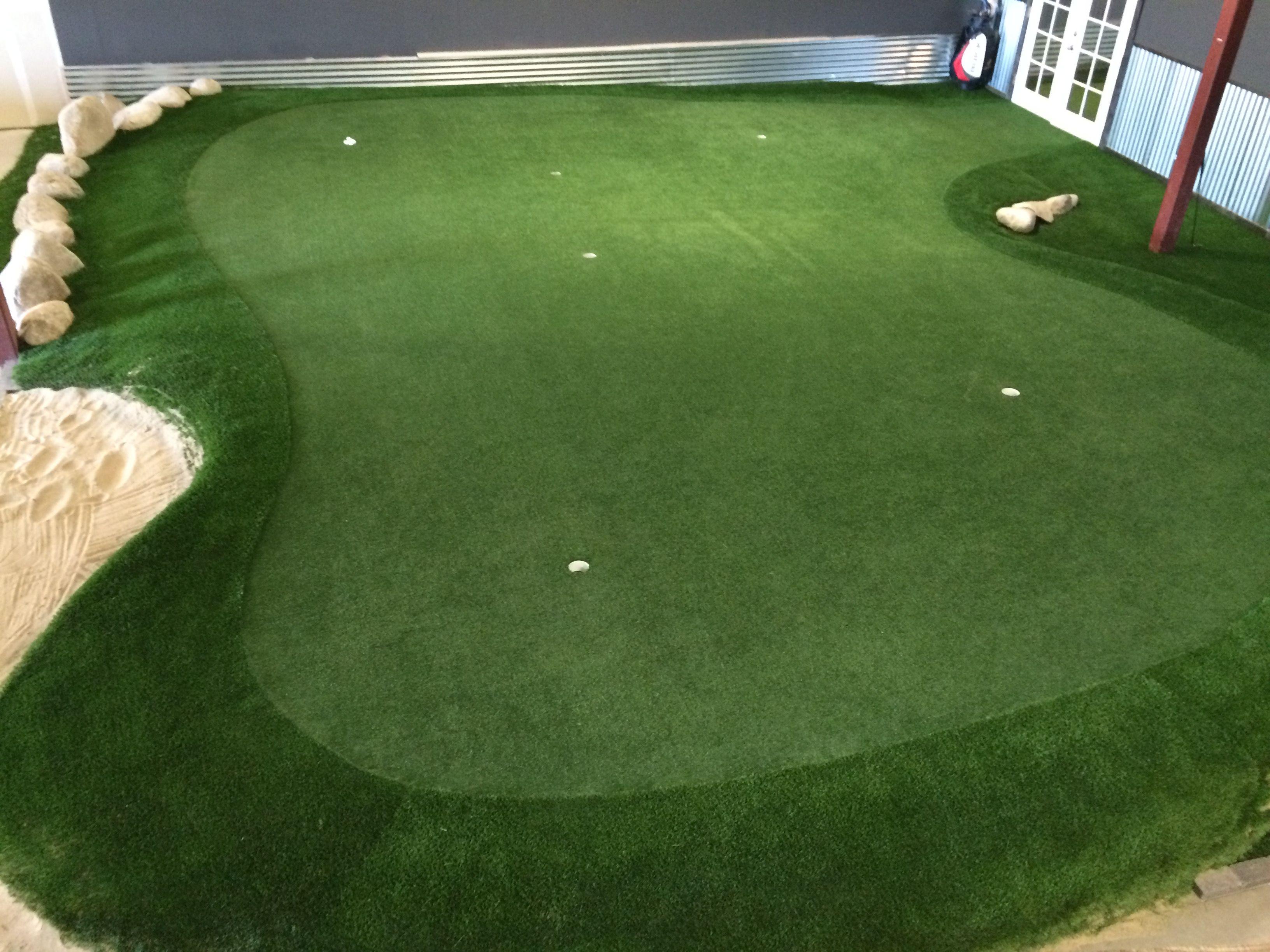 Our indoor putting green. Love it. | Golf | Pinterest | Indoor ...