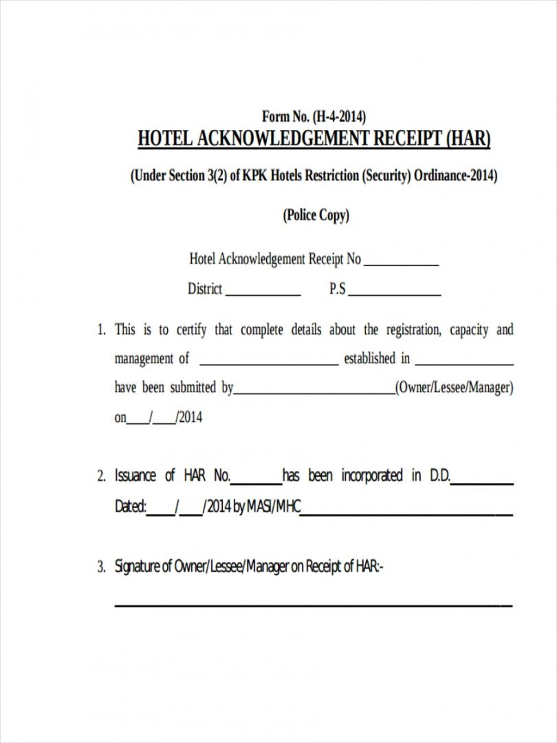 Explore Our Image Of Hotel Accommodation Receipt Template Receipt Template Communication Plan Template Templates