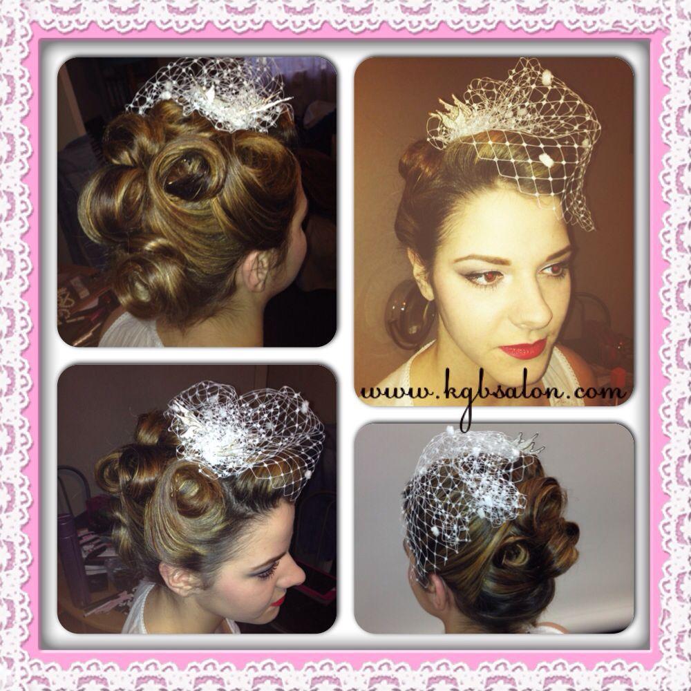 vintage #retro #bridal #wedding #makeup #mua #hair