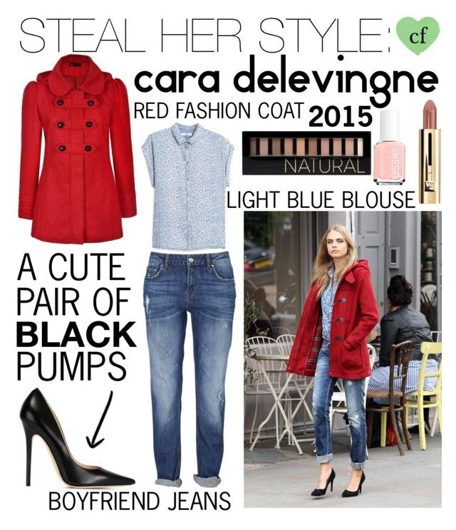 """Steal Her Style: Cara Delevingne"" by campbellfauber ❤ liked on Polyvore featuring Ally Fashion, Jimmy Choo, MANGO, Forever 21, Essie and cfstylesteal"