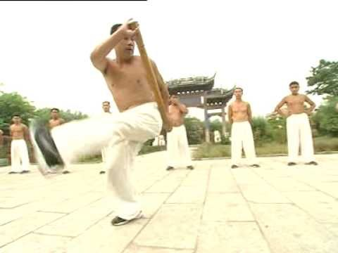 Shuai Jiao - training with stick Chinese martial arts ...