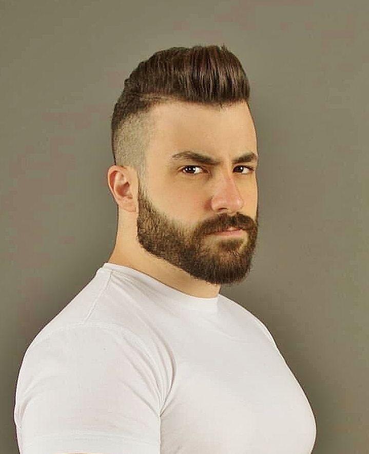 Pin De Matias Ortega En Barbas En 2020 Estilos De Cabello Hombre Barbas Y Cabello Barba Sin Bigote