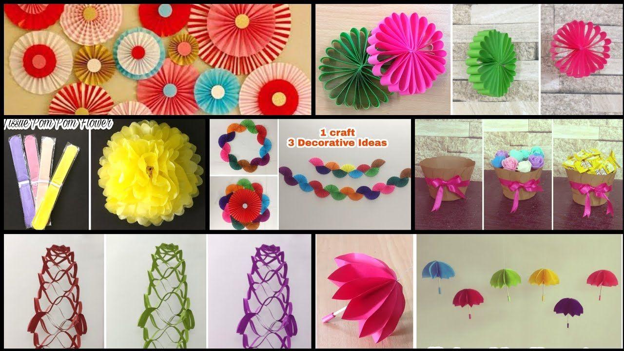 7 Best Birthday Decoration Ideas Diy Paper Craft Party