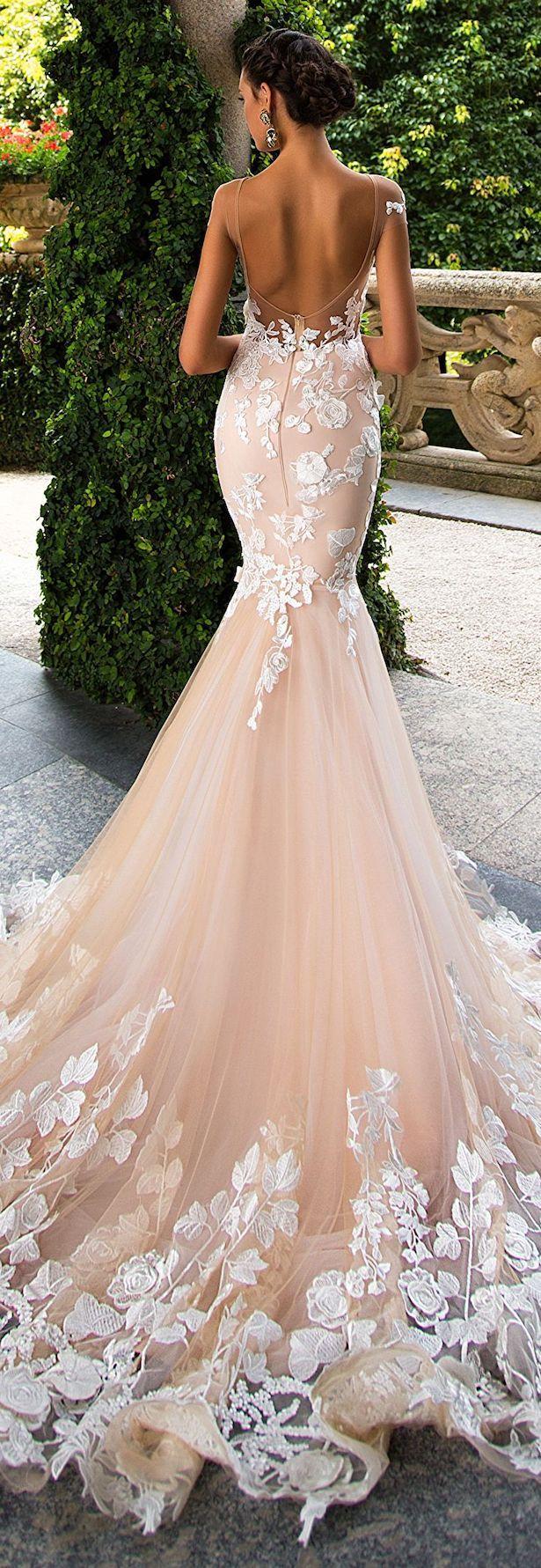 "Wedding Dresses by Milla Nova ""White Desire"" 2017 Bridal"