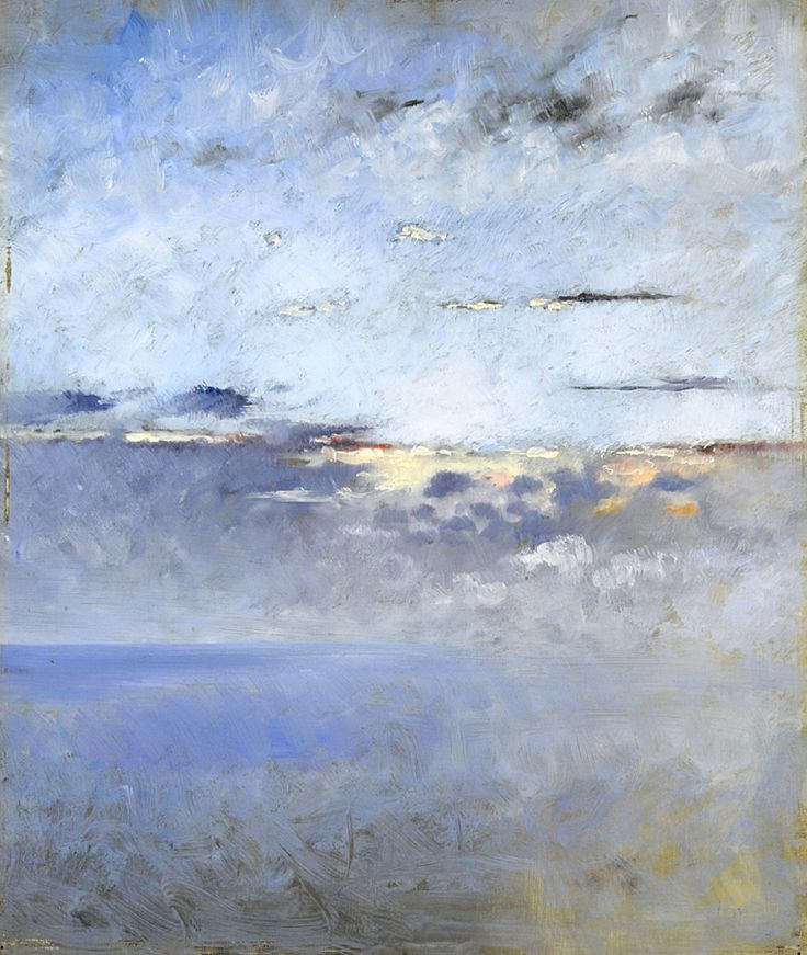 Sea and Clouds, August Hagborg, Swedish artist,1852-1921