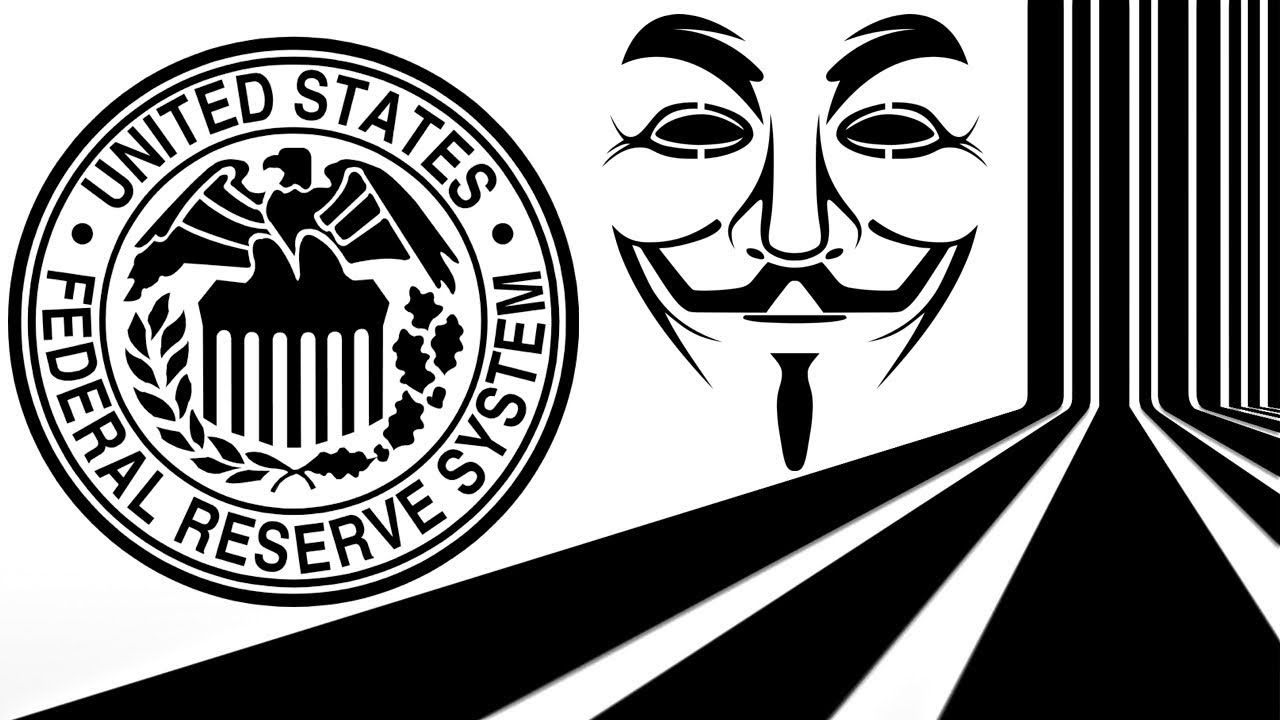 Anonymous Hacks into Federal Reserve Bank Youtube, Fun