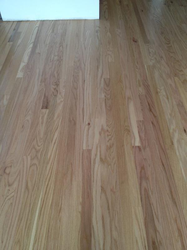 2 1 4 X 1 2 1 Common Engineered Red Oak Floor Glued Down To Match Existing 2 1 4 Solid Floor Hardwood Hardwood Floors Hardwood Flooring