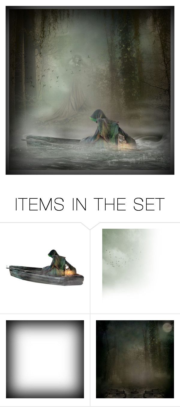 """""""Keeper From The Mystic Water"""" by pdunfee ❤ liked on Polyvore featuring art"""