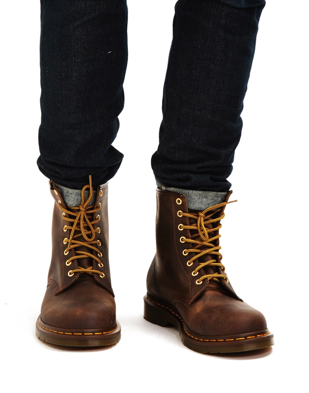 0ce697e1ad3 Dr Martens 8 Eye Rugged Boots Brown | Brian in 2019 | Dr martens, Dr ...