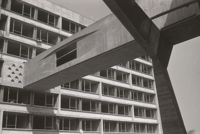 Marcel Breuer 1961 New York University U2013 Dormitory And Student Center U2013 The  Bronx, NY
