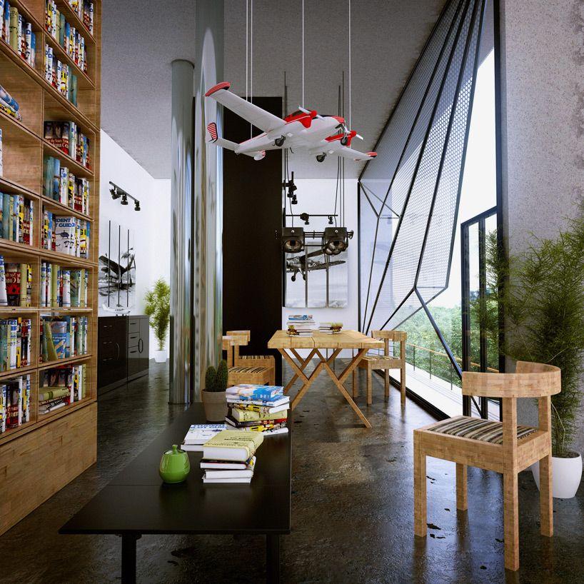 Aviators Villa By Urban Office Architecture Architecture Design - Aviators villa urban office architecture