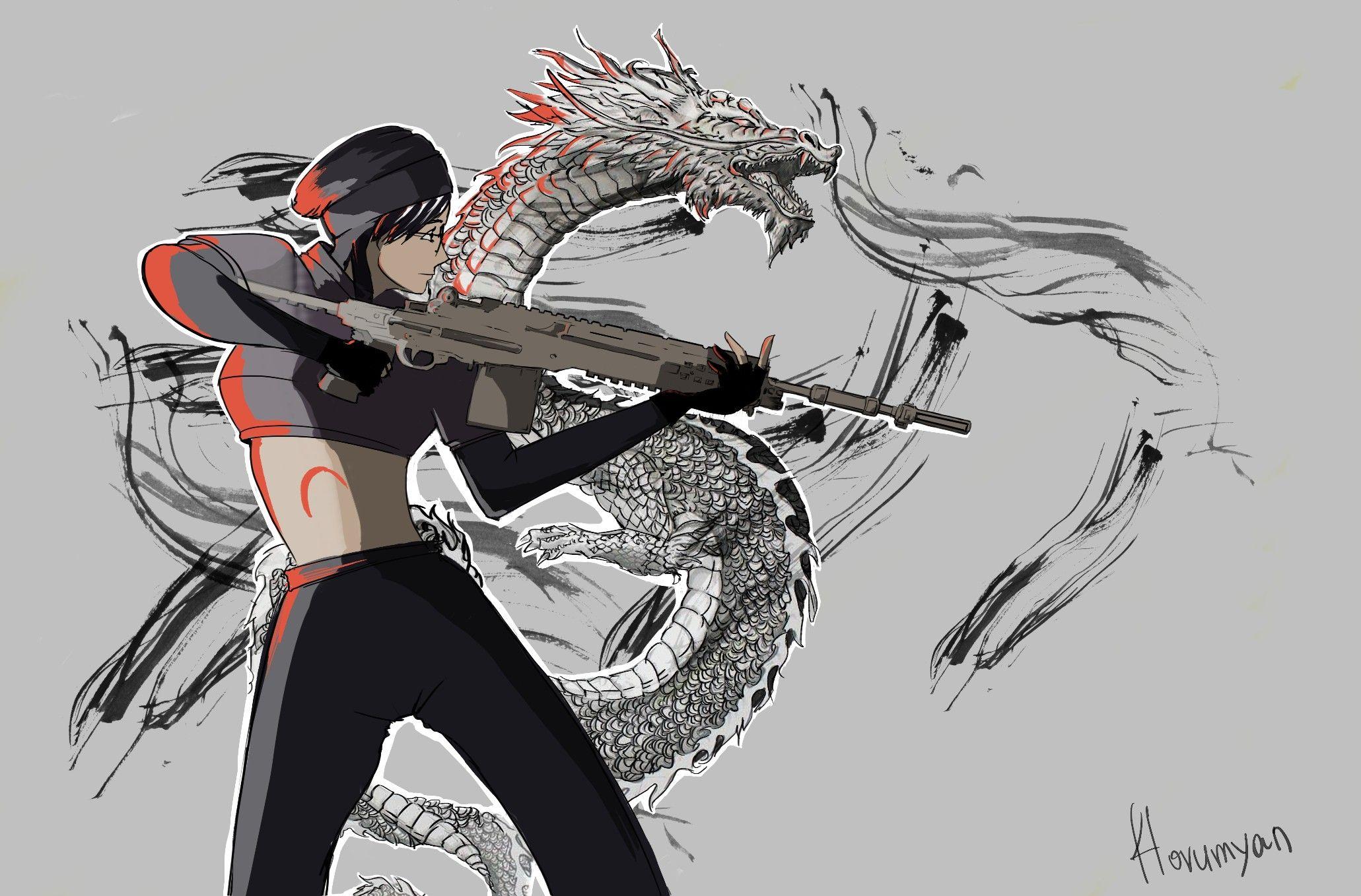 Rainbow Six Dokkaebi With Images Rainbow Six Siege Art
