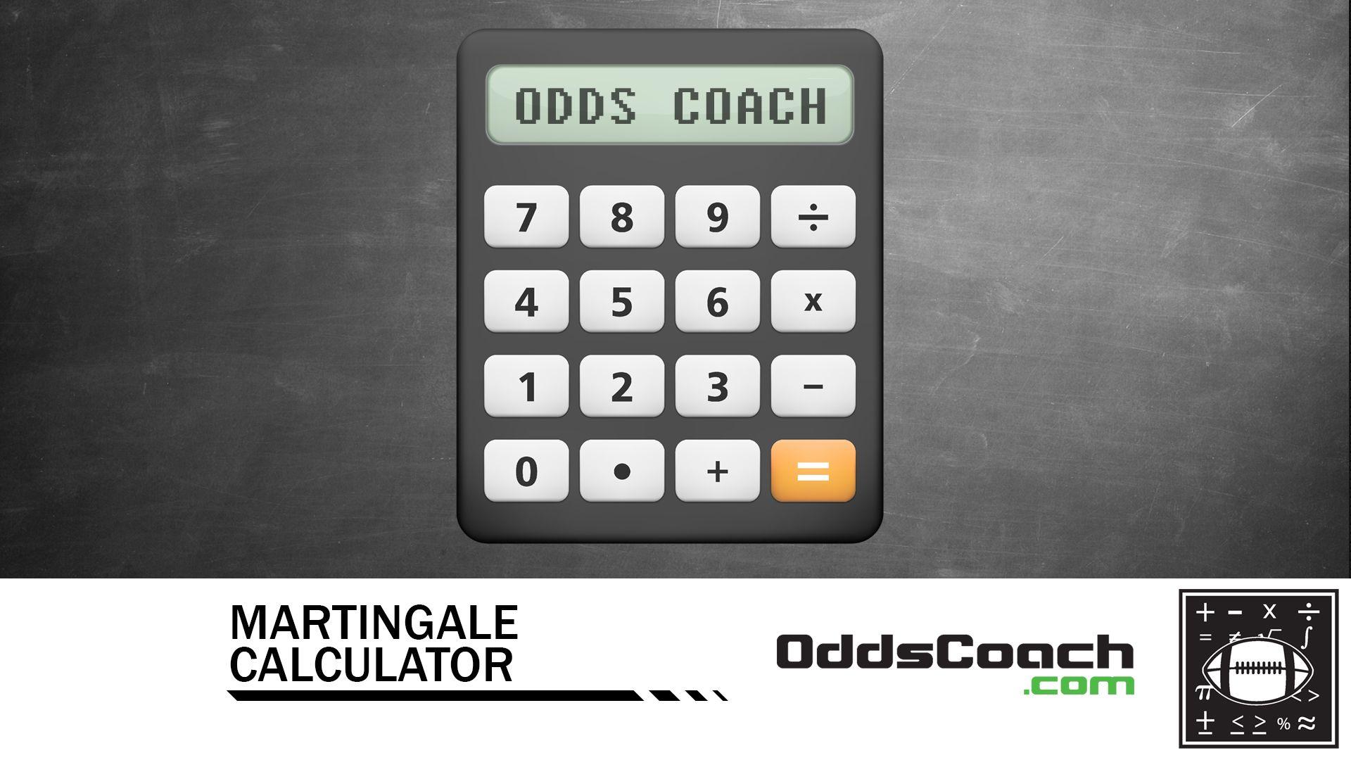 Martingale betting calculator american totesport betting vouchers crossword