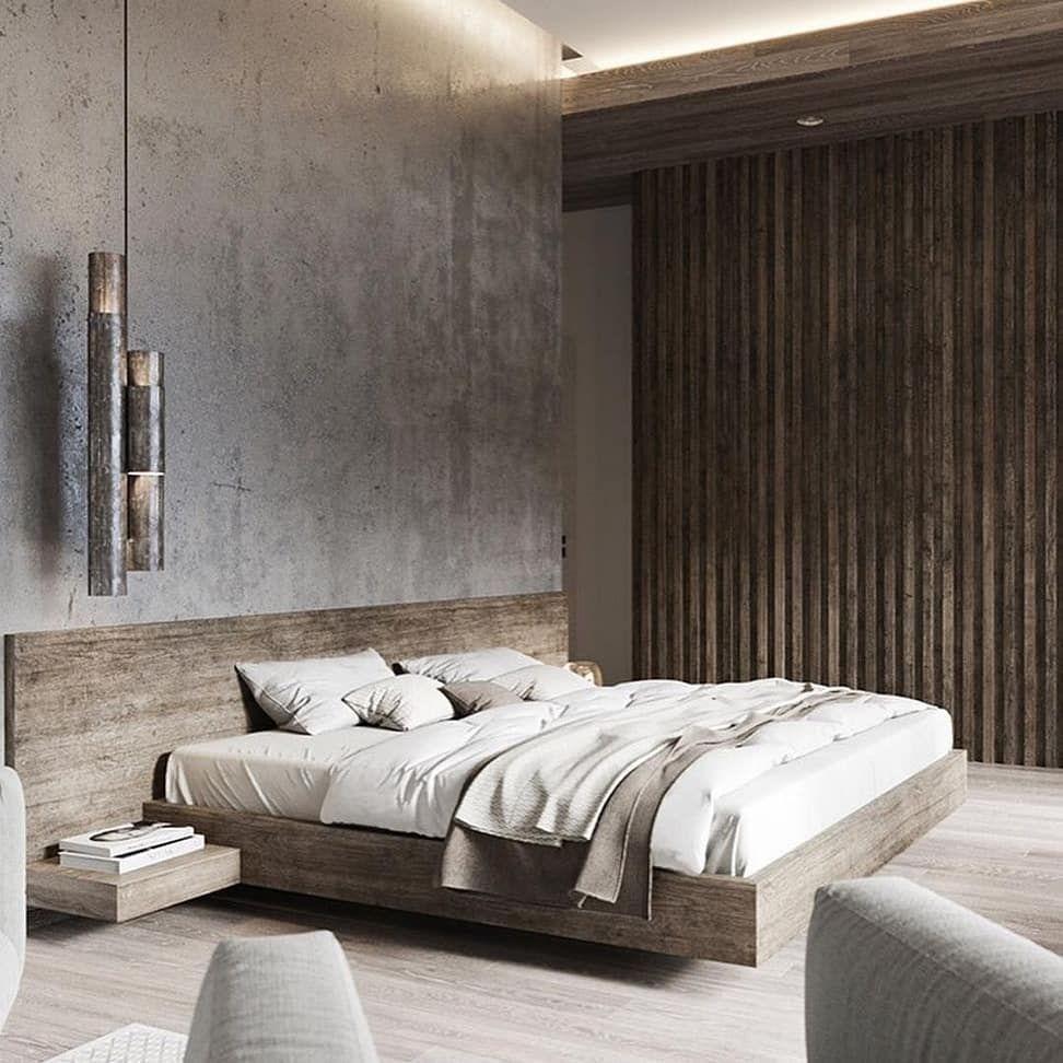 Minimales modernes Schlafzimmerdesign Inspiration .. # ...