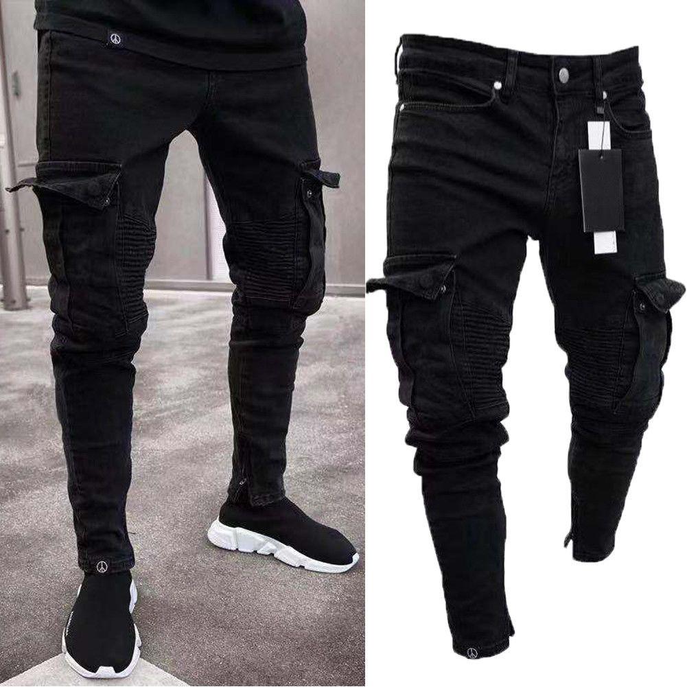 Men Pants Dress Slim Fit Mens Jeans Skinny Jeans Men Mens Pants Fashion [ 1001 x 1001 Pixel ]