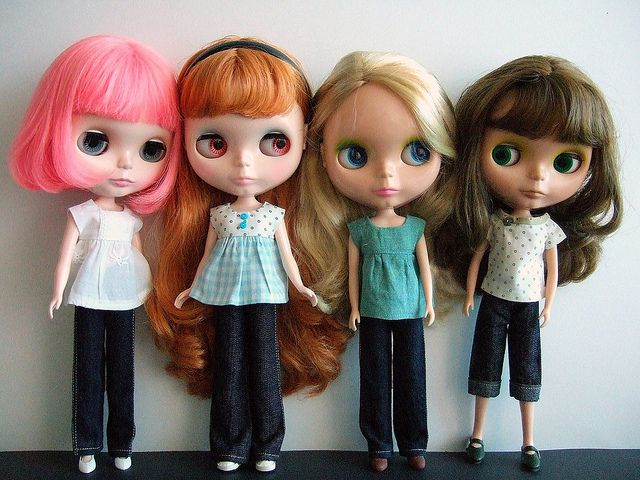 Blythe collection - Flickr  SO  cute!!