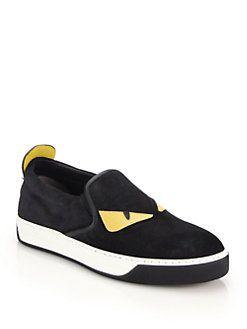 Love Fendi slip-on sneakers - Black Fendi hw9dhns