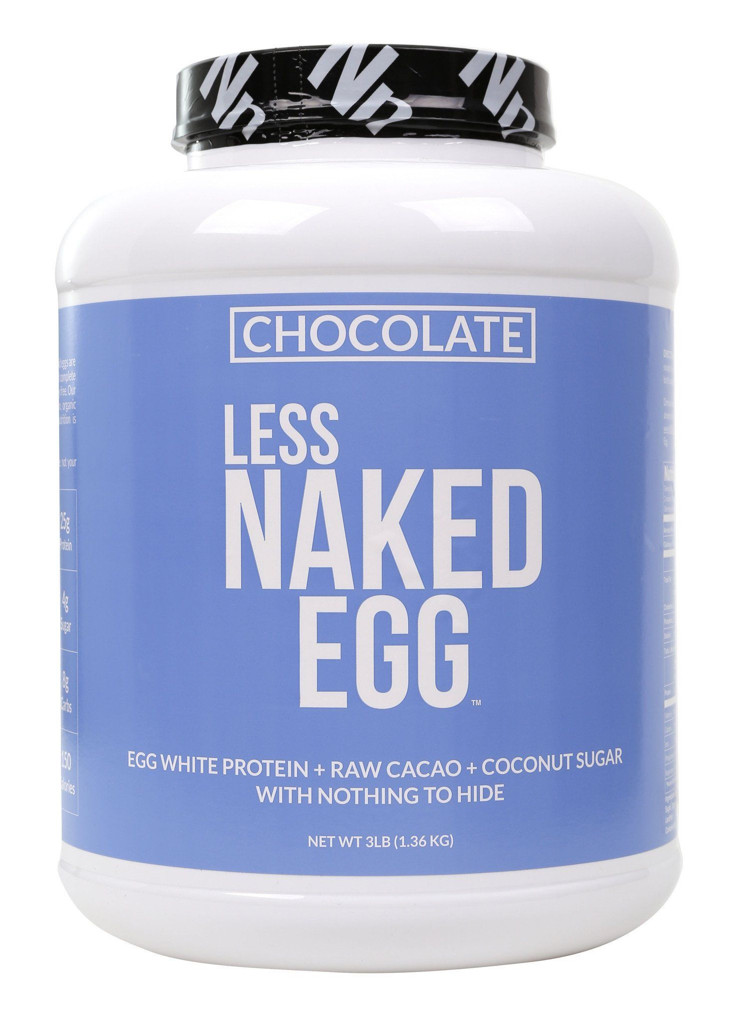 Less Naked Whey Chocolate Protein 1LB - All Natural Grass