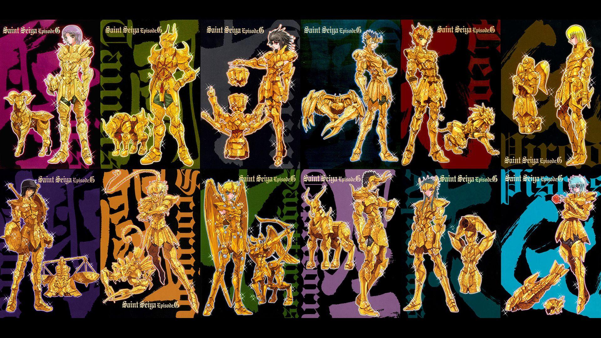 Gold Saints & Armors Episode G Saint Seiya Pinterest