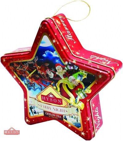 Hyson Weihnachts Schwarzer Tee Starry Nights 150g. (6€ pro 100g)