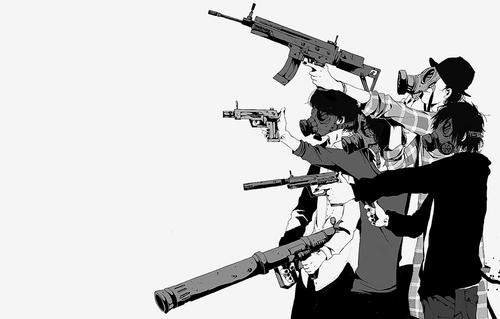 ผลการค้นหารูปภาพสำหรับ gun manga pinterest