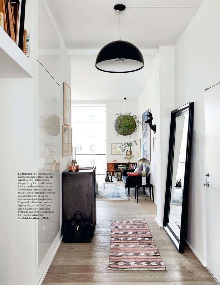 4 astuces déco pour une entrée accueillante Hall, Entryway stairs - deco peinture entree couloir