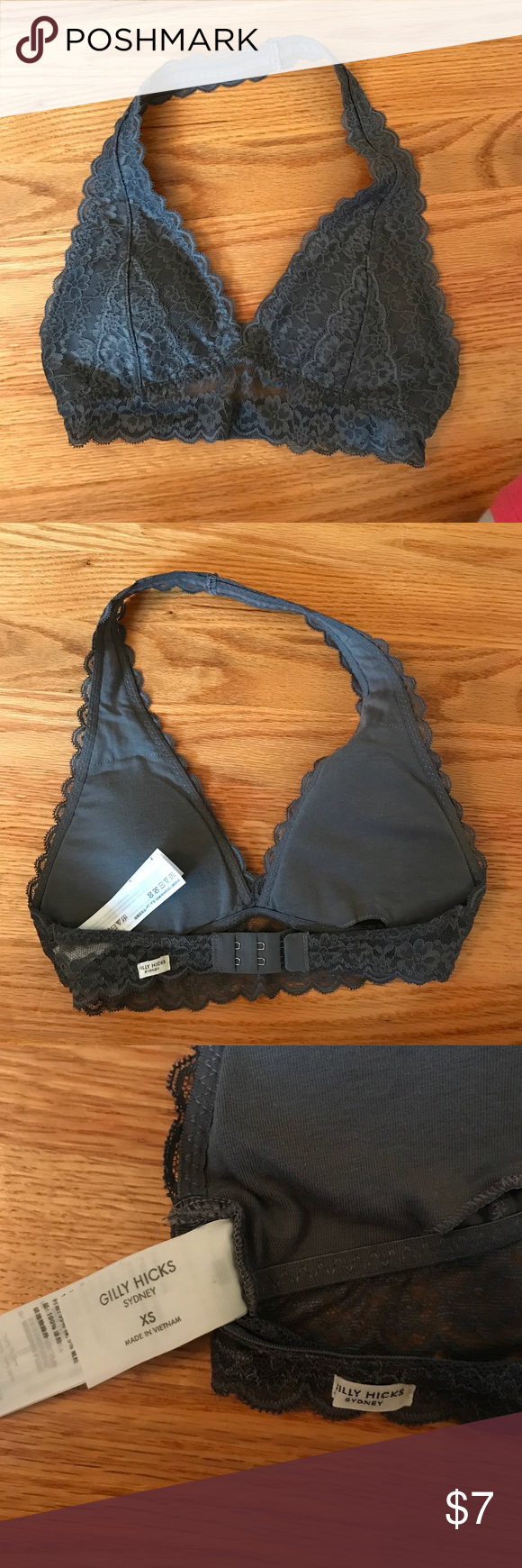 ea55b92a92 Extra small-grey bralette Gilly Hicks  Hollister Brand New (never worn)