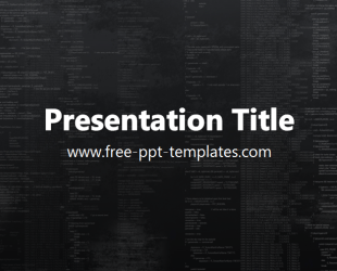 Programming powerpoint template is a black template with programming powerpoint template is a black template with appropriate background image of programming codes which you toneelgroepblik Image collections