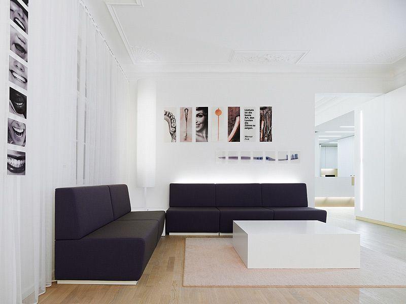 Cl nica dental en un edificio hist rico proyectada por - Muebles para clinicas dentales ...