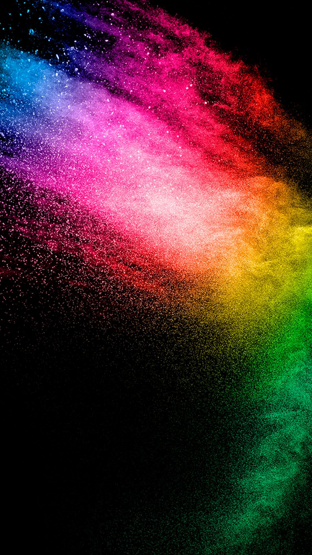 Rainbow Colored Light Particles With Images Hd Wallpaper