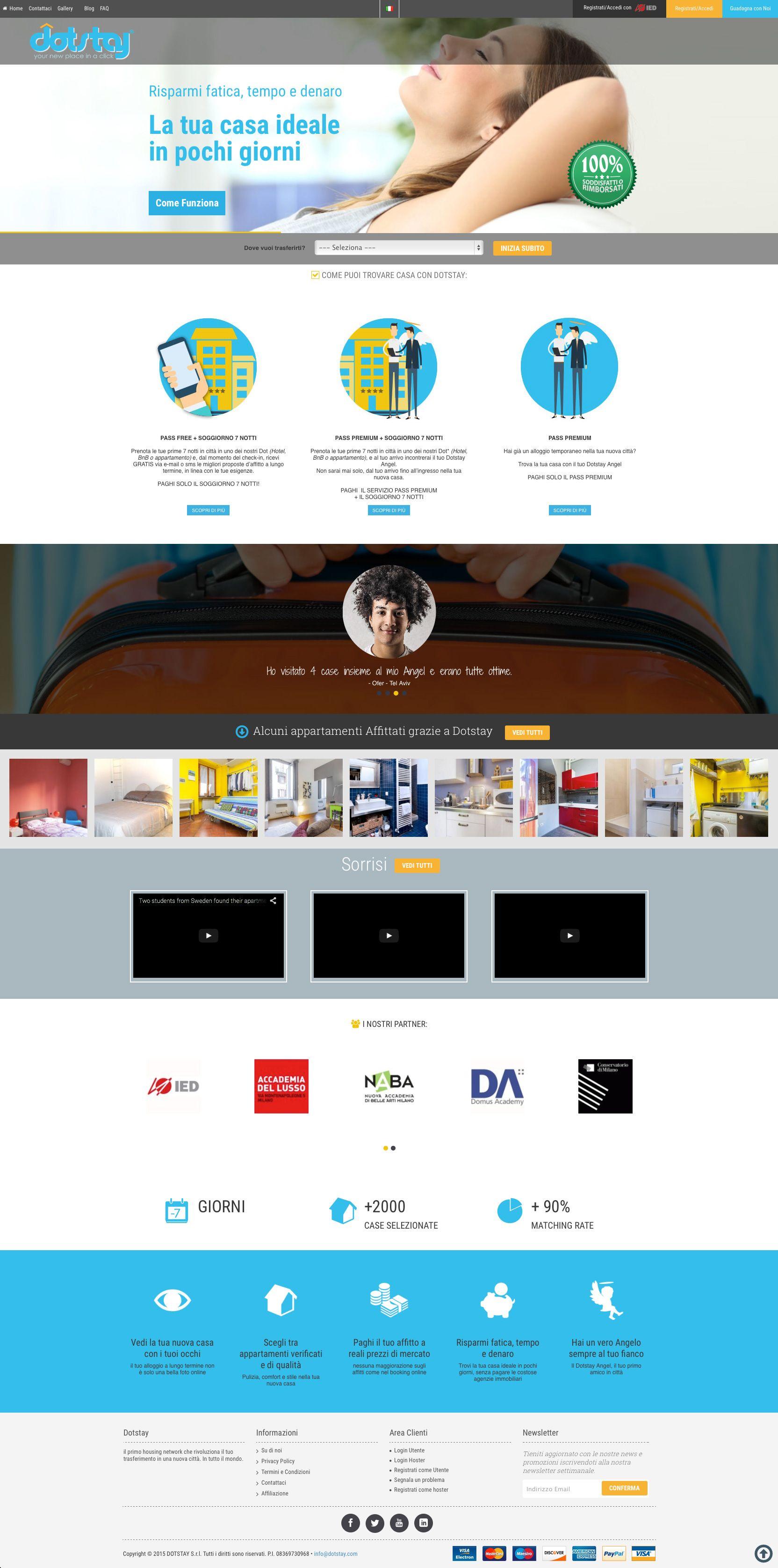 Dotstay #website #webdesign #bemorebedigital @hitframe @simonemimun @royn81