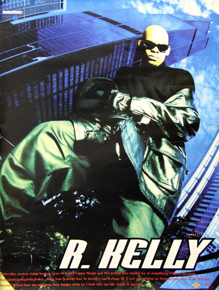 R. Kelly 1995 Self Titled Album Original Jive Records ...