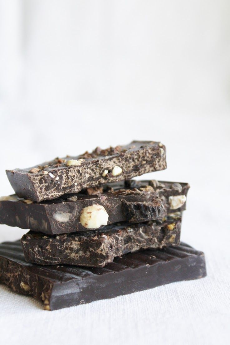 stone ground raw chocolate