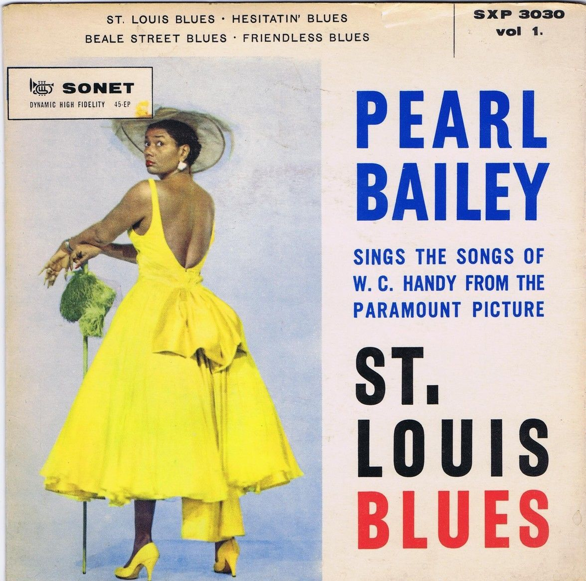 Pearl bailey st louis blues vol danish ep ps sonet album