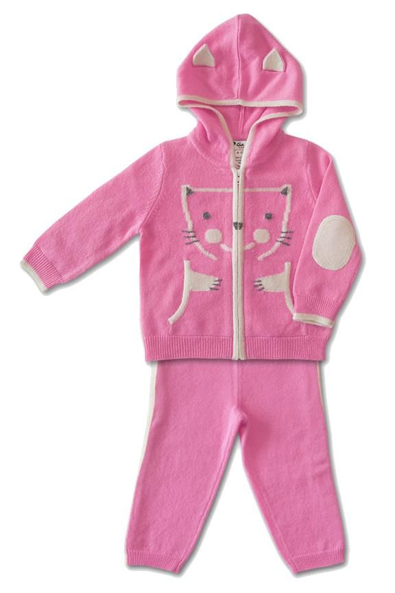 bded666280a74c Unicorn-Critter Zip Hoodie and Printed Leggings for Baby | Bebé | Unicorn  fashion, Winter outfits for girls, Winter baby clothes