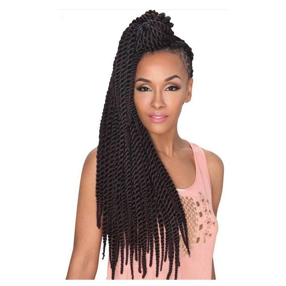 Crochet Hair / Braiding Hair 2X Santigo Twist Braid 24