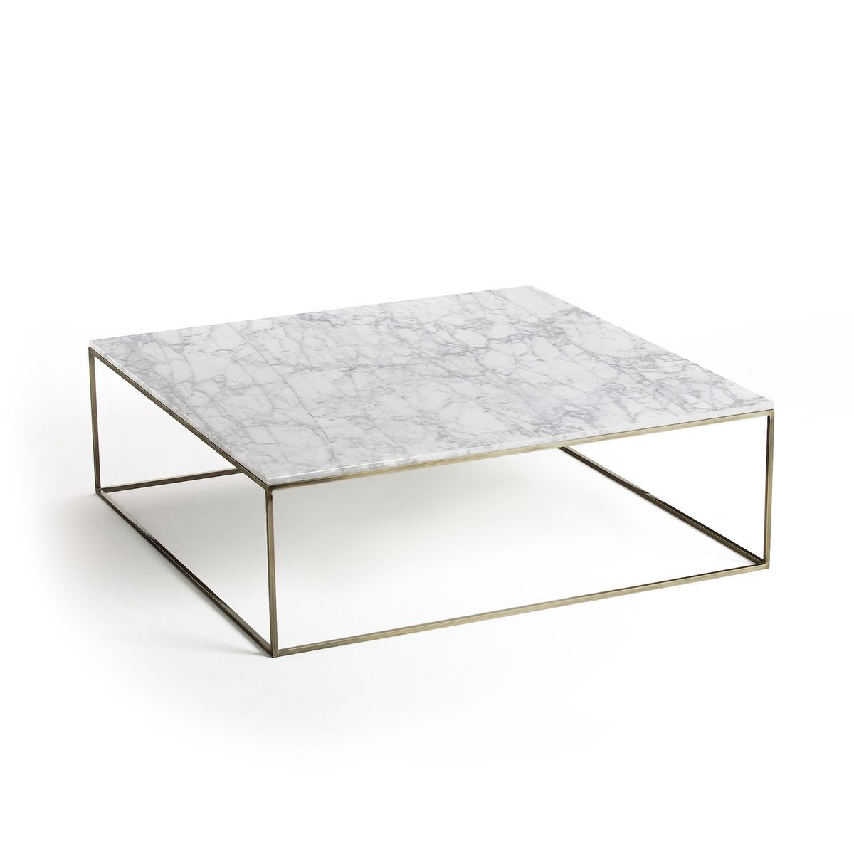 Table Basse Effet Laiton Vieilli Marbre Mahaut Table Basse Table Basse Marbre Table Basse Moderne